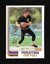 1982 Topps #618 Tim Foli Pittsburg Pirates EX-NM