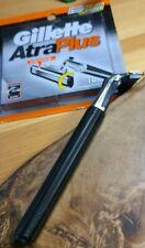 Gillette ATRA vintage Razor handle With 10 NOS NIP blades. Great condition