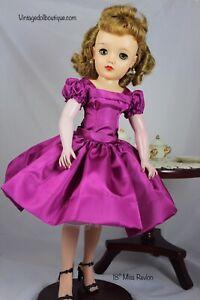 """Taffeta Dress For 18"""" Ideal Miss Revlon"""