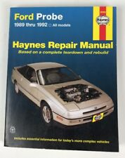Haynes Repair Manual 36066 Ford Probe 1989-1992 ISBN 1563920891 New