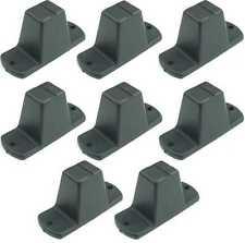 8 St. Adam Hall 4982 Plastikfüße 85 x 33 x 43 mm Möbelfüße Gerätefüße Boxenfüße