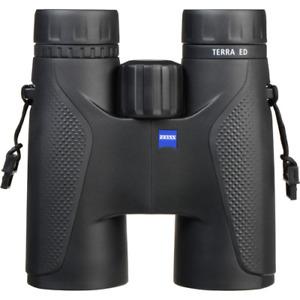 Zeiss Terra ED 10x42 Binoculars - Black / Black