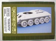 Armorscale 1/35th Scale Early Type Cast Wheels for Soviet Tank T-34 Item R35-022