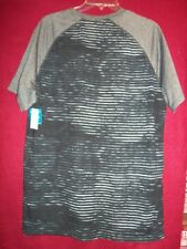 Zone Pro Mens Black/Gray Short Sleeve Pullover Wicking Fabric Size 2Xl New Tag