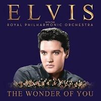 ELVIS PRESLEY The Wonder Of You CD NEW With The Royal Philharmonic Orchestra
