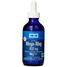 Mega-mag Natural Ionic Magnesium With Trace Minerals 400 MG 4 FL Oz 118 Ml