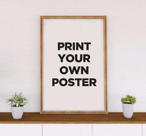 Custom Poster Printing - Custom Print Poster - Poster Printing