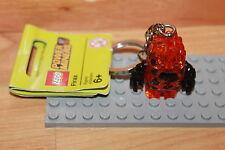 Lego Power Miners - Kristall Monster Firax Figur Neon Orange Schlüsselanhänger