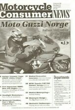 2007 June Motorcycle Consumer News Magazine Back-Issue