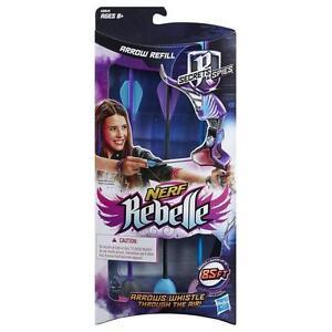 Nerf A8860 Nerf Rebelle Secrets And Spies Arrow Refill Pack Foam Gun Ammo - New