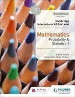 Cambridge International AS & A Level Mathematics Probability & ... 97815