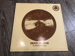 Death In June – To Drown A Rose P14 Vinyl