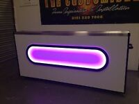 DJ booth mobile Disco Booth Front Of House Desk Light Control Desk