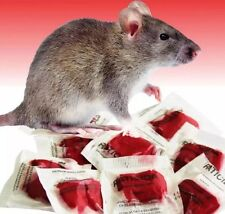 "Rat Poison Mouse Killer Professional Grade 25 Packets ""This Stuff Really Works"""