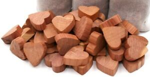 24pc x AROMATIC MOTH CEDAR HEARTS ANTI MILDEW WOOD INSECT REPELLENT BALLS RINGS