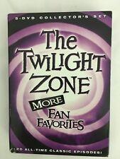 The Twilight Zone: More Fan Favorites (DVD, 2012, 5-Disc Set)