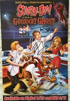 Scooby-Doo & Gourmet Ghost autographed signed auto 2018 Comic-Con SDCC poster