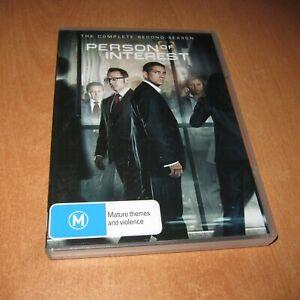 PERSON OF INTEREST - SEASON 2 ( DVD , 6 DISC SET REGION 4 )