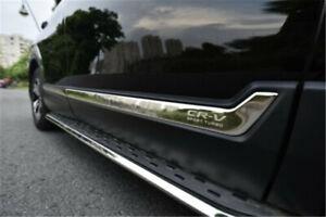 6pcs side door trim moulding bar protector Fits for Honda CRV CR-V 2017-2021