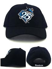 San Jose Sharks New Reebok 25th Anniv Diamond Black Teal Fanatics Era Hat Cap