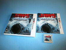 Jaws: Ultimate Predator (Nintendo 3DS) XL 2DS Game w/Case & Manual