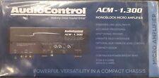 AUDIO CONTROL ACM-1.300 MONOBLOCK MICRO AMPLIFIER WITH ACUBASS