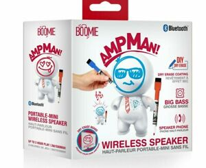 Bluetooth Speaker  wireless art  BOOMIE Ampman DIY Dry erase NEW Gloss Portable