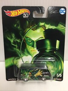 Hot Wheels DC Comics Green Lantern 50th Anniversary - 66 Dodge A100 - Metal Toy