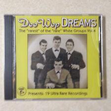 Doo Wop Dreams, Vol.4: 19 Rare Recordings - BRAND NEW CD