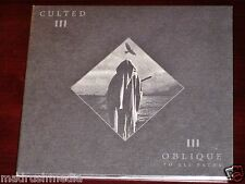 Culted: Oblique To All Paths CD 2014 Relapse Records USA RR7252 Digipak