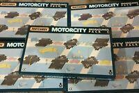 5x Matchbox Motorcity Ergänzungs-Pack C Schienen Set - Track Pack / Kreuzungen