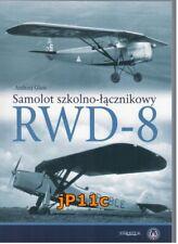 Samolot szkolno-łącznikowy RWD-8 - Andrzej Glass * NEW !!