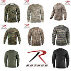 Rothco Military Tactical Hunting Long Sleeve Camo T-Shirts Tagless Label