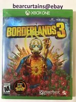 Borderlands 3 XBox One with Gold Weapon Skins Pack Brand New Sealed FastShipping