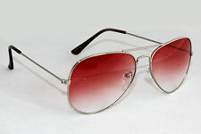Sunglass in Aviator Style  In Lavish Red Shade(Goggles)