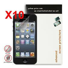 10x Apple iPhone 5/5c/5s Anti-glare / Matte Screen Protector - Japanese Material