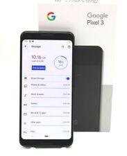 Google Pixel 3, Modell: G013A, schwarz, Smartphone, 64GB- Teildefekt