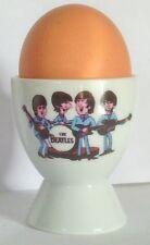 THE FAB FOUR cartoon SINGLE EGGCUP  EGG CUP Paul McCartney, John Lennon, Ringo