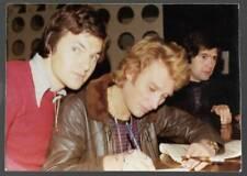 photo couleur JOHNNY HALLYDAY signature originale à Besançon 12/11/76