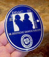 PLAKETTE DDAC 38. Deutsche Damen Rallye WEIMAR 1926-1996 Automobil Club AvD DR3