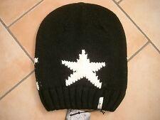 (m11) GREZZO A Maglia Berretto Freaky testa Beanie Inverno Berretto Big Stars + logo ricamate