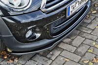 Sonderaktion Spoilerschwert Frontspoiler Lippe aus ABS für MINI Cooper S R56 ABE