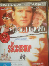 DOUBLE FEATURE * AN IDEAL HUSBAND + THE SUCCESSOR * DVD   *USED *(E & H)