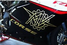 Kit 4 adesivi per carene moto MV agusta f4 1000 ottima qualità
