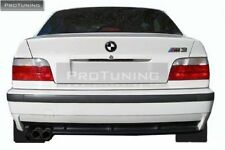BMW E36 3 series 91-99 Rear bumper M3 look style ABS Plastic black Primed tuning
