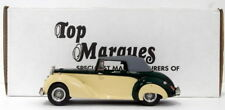 Top Marques 1/43 Scale HE6 - 1954 Alvis TC 21/100 Grey Lady Closed - Green/Cream
