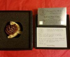 Rare Limited Edition Harmony Kingdom Fragile World Seal on Pine Cone 1 of 250 Ww