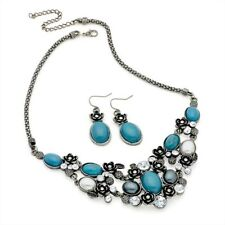Turquoise Statement Unbranded Costume Necklaces & Pendants