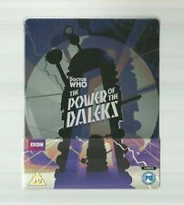 DOCTOR WHO THE POWER OF THE DALEKS - EXCLUSIVE BLU RAY STEELBOOK BBC NEW+SEALED