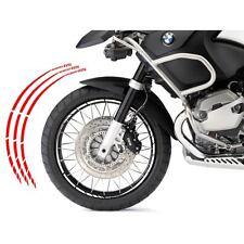 BMW R 1200 GS KIT ADESIVI SPECIFICI COLORE ROSSO CERCHIO PROFILO RUOTA